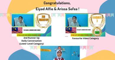 Regional English Competition (RECo) 2021 Anjuran As-Shofa Islamic Primary School Pekanbaru